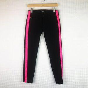 NWT Hudson LouLou Tuxedo Black Skinny Jeans 25